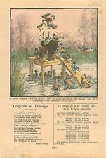 Chasse au Gibier d'Eau Canards Sauvage Hunting Wild Ducks France 1936
