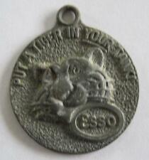 Esso Tiger in Your Tank Happy Motoring Key Club Key Chain Medallion