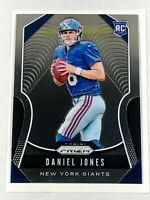 2019 Panini Prizm #302 DANIEL JONES Base RC N.Y. Giants