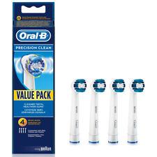 4 Braun Oral B Precision Clean Electric TOOTHBRUSH HEADS EB20-4