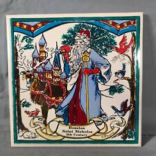 """Payne Creations Hand Painted """"9th Century Russian Saint Nicholas"""" Tile With Box"""