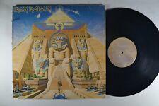 IRON MAIDEN Powerslave ORIGINAL ROCK LP
