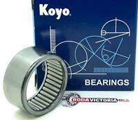Full Complement Drawn Cup Inch 9//16 OD Open 1//2 Width Koyo B-68 Needle Roller Bearing 7100rpm Maximum Rotational Speed 3//8 ID
