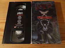 Slayer-LIVE Intrusion US VHS NTSC