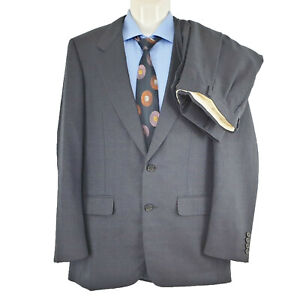 Aquascutum David Jones Men's 2 Pieces Suit Wool Size 96cm L SU03 Faulty