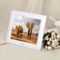 7' Digital Photo Frame HD TFT-LCD Alarm Clock Slideshow MP3/4 Player 2015 HOT