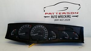 1997 CADILLAC CATERA SPEEDOMETER INSTRUMENT DASH GAUGE CLUSTER ASSEMBLY 95,147