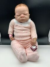 Linda Webb Künstlerpuppe Vinyl Puppe 55 cm. Top Zustand