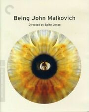 Being John Malkovich (Criterion Collection) (Blu-ray, 1999) Oop Like New