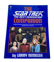 Star Trek the Next Generation Companion Soft Cover Book Pocket Books