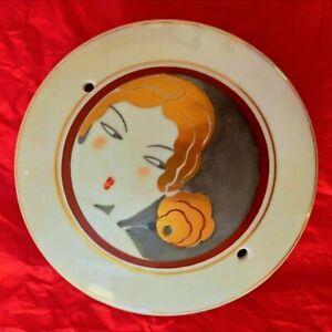 ARGILOR France Portacipria o Diffusore incenso/essenze Porcellana Deco 1920 '30