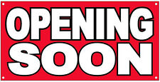 2x4 ft OPENING SOON Vinyl Banner Grand Opening Store Coming Soon Sign New - rb