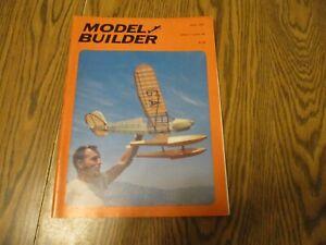 MODEL BUILDER MAGAZINE APRIL 1977 VOL 7 NUMBER 64