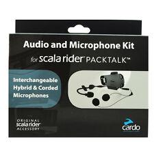Cardo Scala Rider PackTalk Audio Kit micrófono y altavoces Kit srak 0032