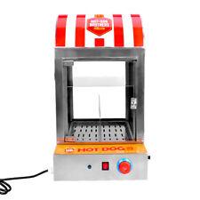 Commercial Hot Dog Steamer Machine 220V Sausage Warmer Hot Dog Bun Warmer