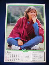 1983 Sophie Marceau Japan VINTAGE calendar POSTER VERY RARE