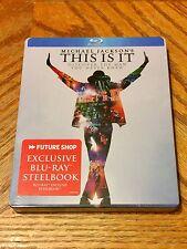 Blu Ray DVD Steelbook Michael Jackson's This Is It New Sealed Futureshop