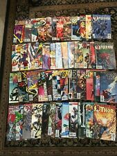 Lot of 49 Marvel Comic Books 1985 to 2002 Wolverine Xmen Fantastic Four Thor (1)
