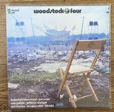 VARIOUS, WOODSTOCK FOUR, COTILLION RECORDS, GREEN & WHITE VINYL, MINT, 2 LP