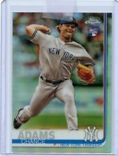 2019 Topps Chrome CHANCE ADAMS #109 Rookie RC Refractor - New York Yankees