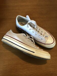 Converse Chuck 70 OX Men's Size 6 In White 162065C