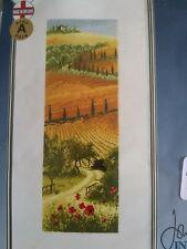John Clayton Tuscany Cross Stitch Kit New