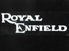 Royal Enfield decal sticker large logo rear truck window Classic motorcycle