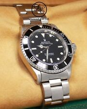 ROLEX Submariner 14060 Oyster Steel Black Dial Watch BOX/PAPERS *MINT CONDITION