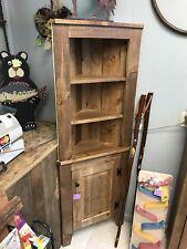 Superieur Handmade Solid Wood Corner Cabinet