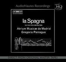 LA SPAGNA - AUDIO NAUTES B.I.S AN-1603 - Gregorio Paniagua  -  ATRIUM MUSICAE