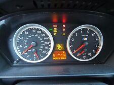 06 07 08 09 BMW E60 M5 MANUAL CLUSTER ODOMETER SPEEDOMETER 93K MILES OEM 2403