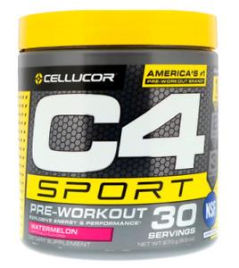 Cellucor - C4 Sport Pre-Workout - Watermelon Flavour (270g)