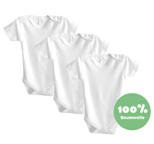 0-12 Monate Viviland Baby Boys M/ädchen Bodys 3er-Pack Langarm Pyjama aus Baumwolle