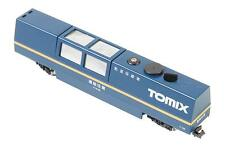 TOMIX 6425 Spur N Schienenreinigungswagen + Staubsauger blau