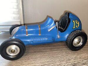 🚙RARE 19 Blue Thimble Drome Champion Roy Cox Tether Car Racer Santa Ana, CA 50s