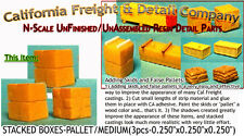 California Freight STACKED BOXES-PALLETED/MEDIUM (3pcs) N/1:160