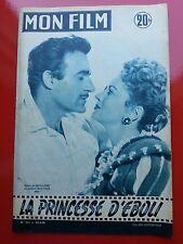 28/03/56 MON FILM n°501 OLIVIA DE HAVILLAND  G.ROLLAND dans LA PRINCESSE D'EBOLI