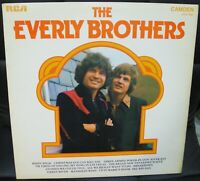 THE EVERLY BROTHERS -  LP  1972 RCA CAMDEN CDS1142 UK ISSUE