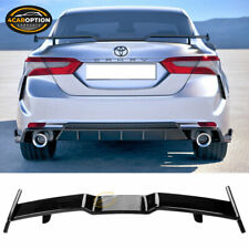 Fits 18-20 Toyota Camry Rear Spoiler Wing ABS Gloss Black