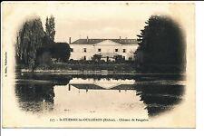 CPA ST ETIENNE LES OULLIERES ( 69 ) Chateau de POUGELON