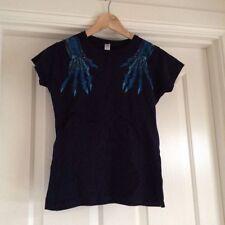 Cotton Blend Rockabilly Short Sleeve T-Shirts for Women