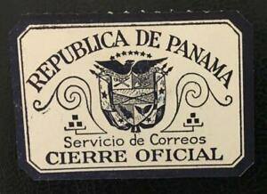 PANAMA.CLASSIC UNUSED OFFICIAL SEAL/CIERRE OFICIAL. MNG. LOOK!