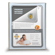 Sleep Sync Premium Mattress Encasement - White Full Size