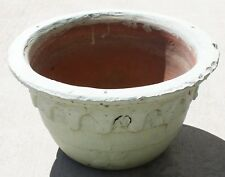 Early Bauer Antique Red Ware Good Luck Hanging Pot #10 Rare!