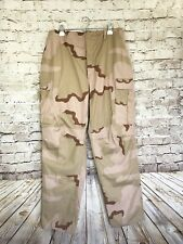 NWOT Large Military Camouflage Women's Pants Beige Brown