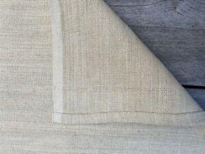 EILEEN FISHER Home Linen Cotton Bedrunner Natural Beige King