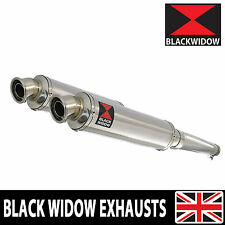 HONDA GL 1500 GOLDWING GOLD WING EXHAUST ROUND STAINLESS STEEL SILENCERS SN35R