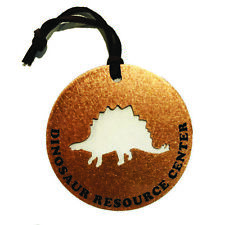 Copper Ornament- Christmas, Decoration, Dinosaur, Cutout, Stego, NEW