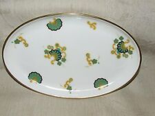 RARE 1960s MINTON Titania Oval Card Pin Dish Dresser Tray Modern Abstract Floral