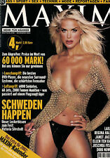 Maxim 12/2001 Dezember,Victoria Silvstedt,Regina Halmich,Janet Jackson,Laila Ali